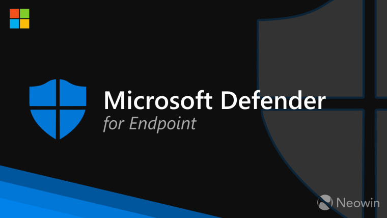 A Microsoft Defender logo and text that reads Microsoft Defender for Endpoint
