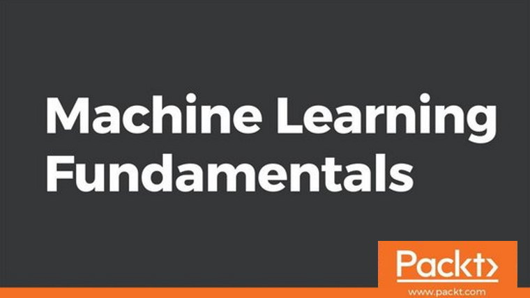 the words Machine Learning Fundamentals on grey background
