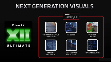 AMD's FidelityFX suite with all the DX12 features.