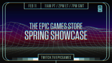 Epic Games Store Spring Showcase promotional images