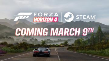 Forza Horizon 4 on Steam announcement promo