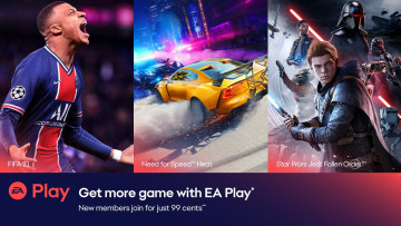 FIFA 21, Need for Speed Heat, and Star Wars Jedi: Fallen Order for EA Play promo