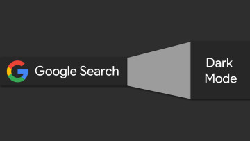 Google logo with Google Search Dark Mode written