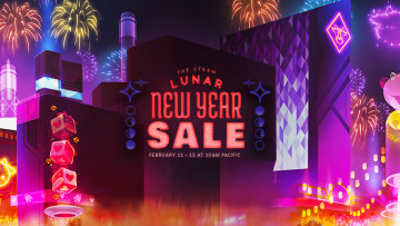 Steam Lunar New Year Sale promotional image