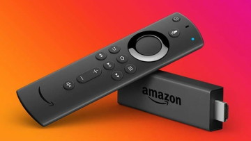 Fire TV stick and remote