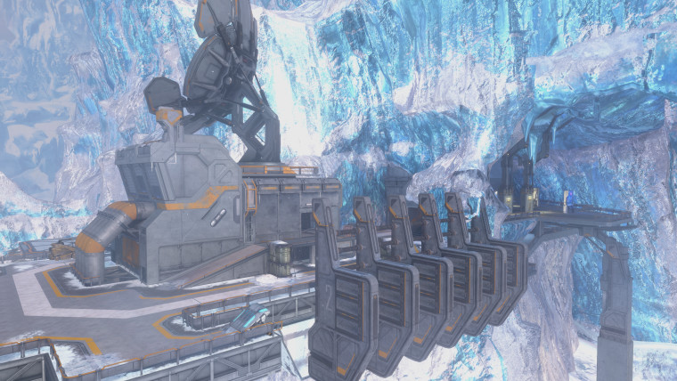 Screenshot of Halo Online map ported to Halo 3