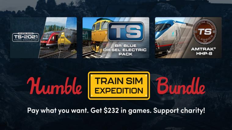 Humble Train Sim Expedition Bundle promo
