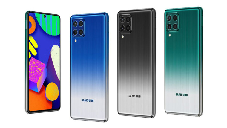 The front and back shots of Samsung