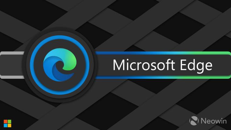 Microsoft Edge logo in concentric circles