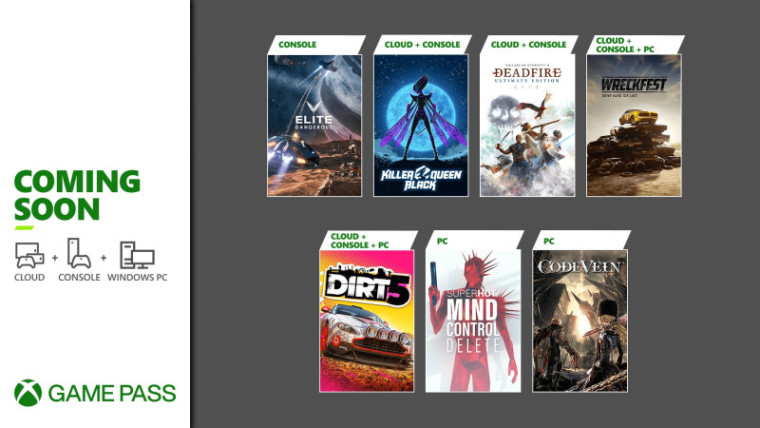 Xbox Game Pass February 2021 wave 2 arrivals promo