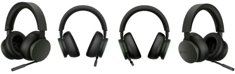 All-around view of the Xbox Wireless Headset