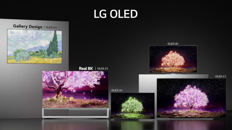 LGs range of 2021 TVs