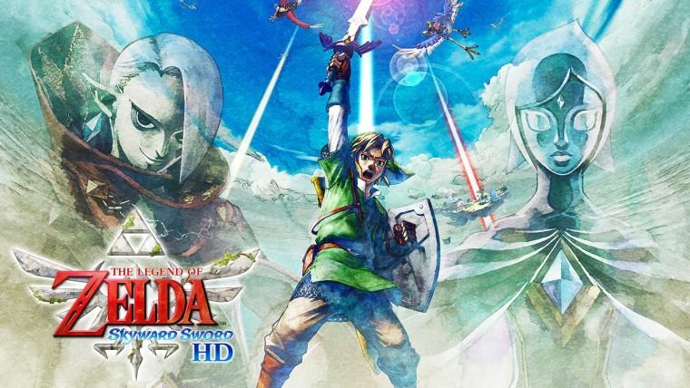 Official artwork for The Legend of Zelda Skyward Sword HD