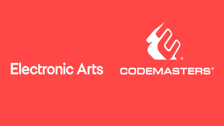 Codemasters and EA logos side by side
