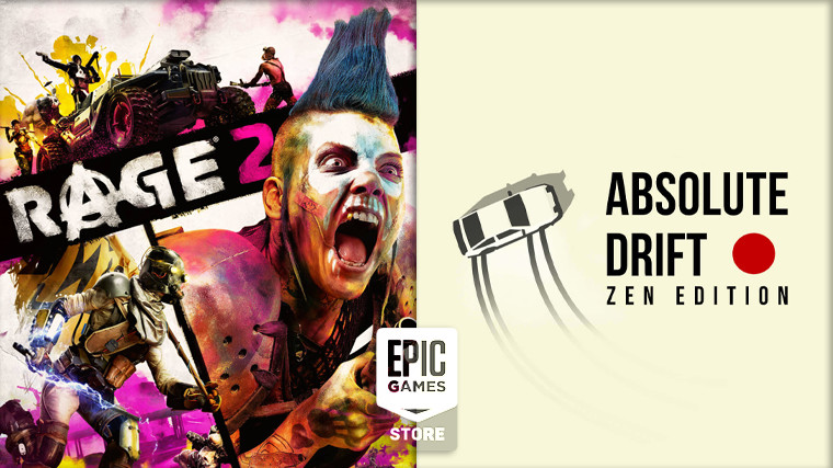 Absolute Drift and Rage 2 are free on the Epic Games Store