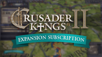 Crusader Kings II expansion subscription  logo