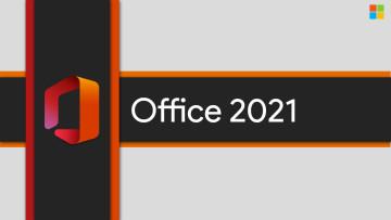 Office logo and Office 2021 written