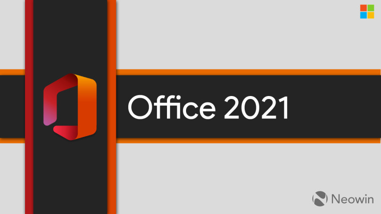 Office logo and Office 2021 written