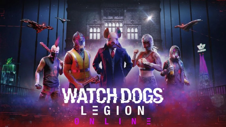 Watch Dogs Legion multiplayer promo material