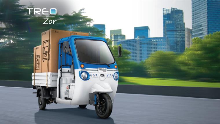 Mahindra Treo Zor electric vehicle