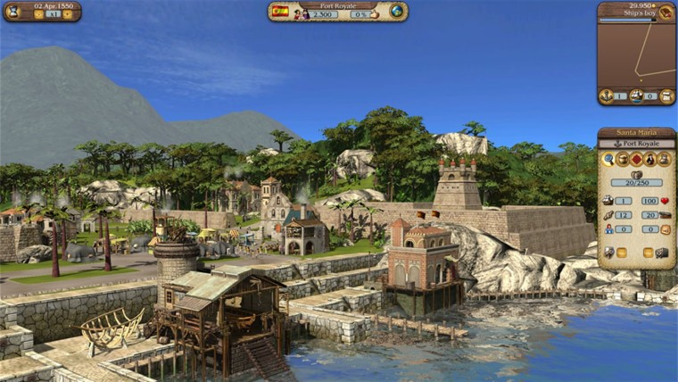 Screenshot van Port Royale 3