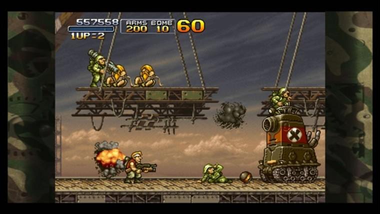 Schermafbeelding van Metal Slug 3