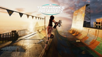 tony hawk's pro skater 1 and 2 game screenshot