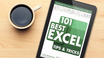 101 excel tips