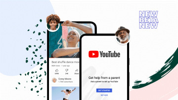 YouTube's new parental controls for teens and tweens being shown on a mobile device