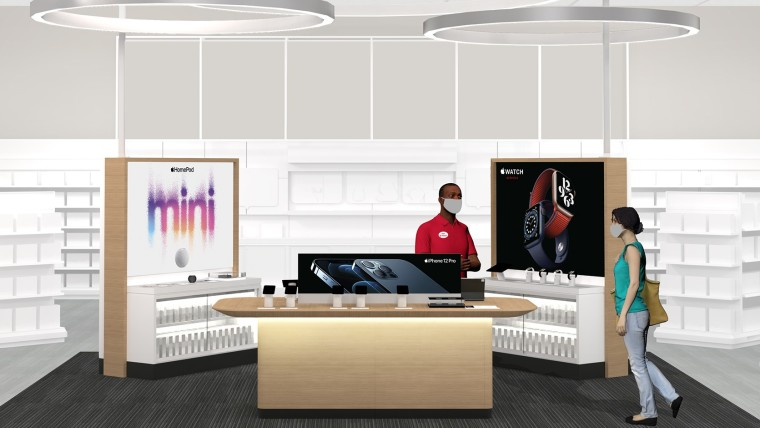 apple store at target store concept art