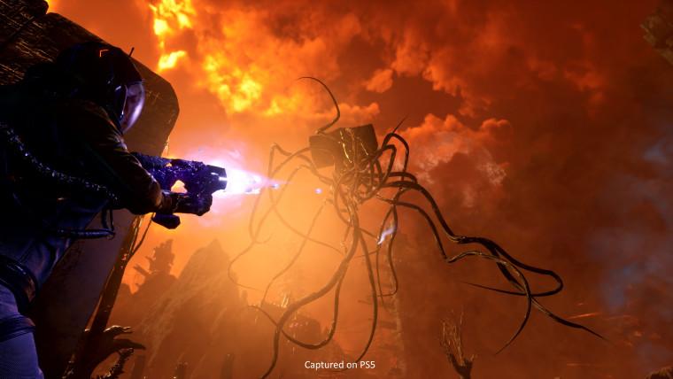 returnal gameplay footage on playstation 5