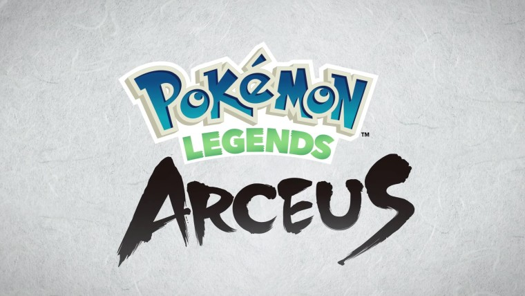Pokémon Legends Arceus logo