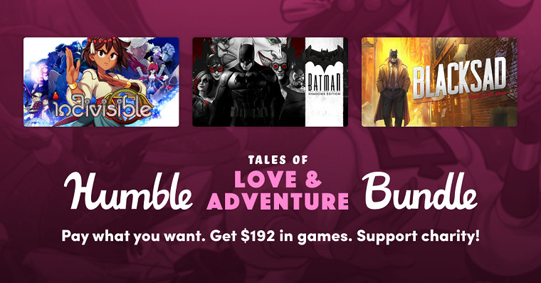Humble Tales of Love and Adventure Bundle promo