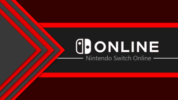 Nintendo Switch Online logo against a dark background