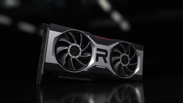 Render of AMD Radeon RX 6700 XT reference model