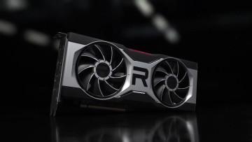 Render of AMD Radeon RX 6700 XT reference model