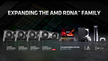 AMD teases RX 6000 laptop chips during 6700 XT launch