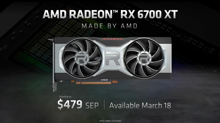 RX 6700 XT launch