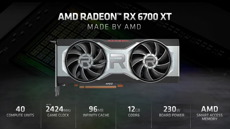 RX 6700 XT specifications