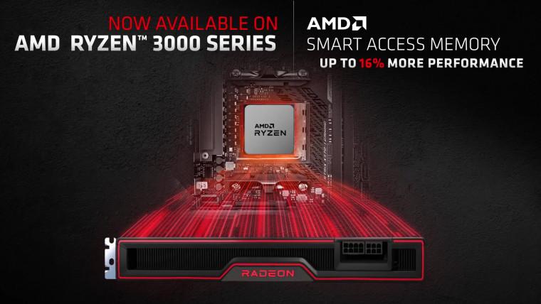 AMD Smart Access Memory support on Ryzen 3000