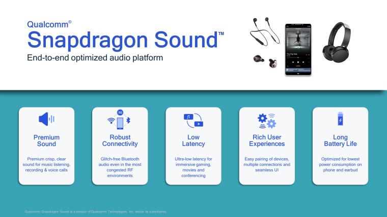 Snapdragon Sound infographic