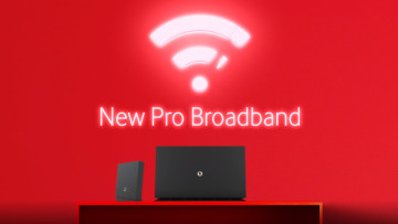 It reads &039New Pro Broadband&039 and shows new router and extenders