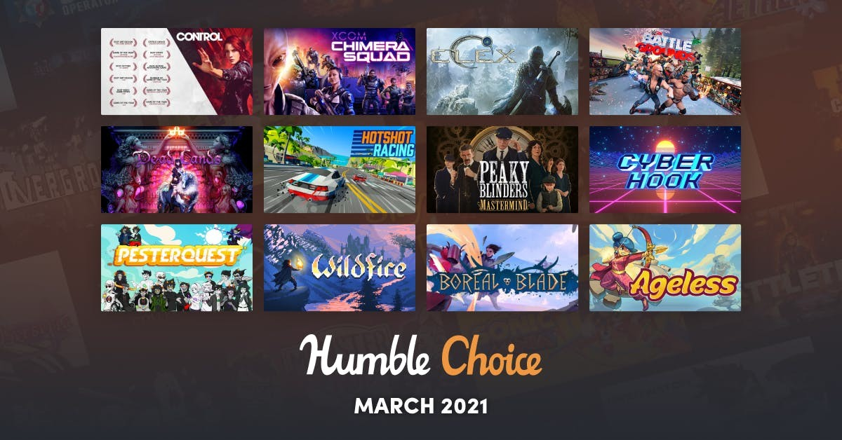 Humble Choice March games selection