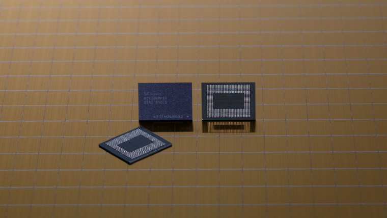 LPDDR5 memory chips from SK hynix