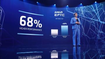 AMD 3rd gen EPYC performance vs Intel Xeon