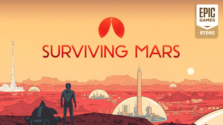 Surviving Mars is free on the Epic Games Store this week