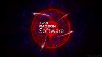 Logo of AMD Radeon graphics display driver
