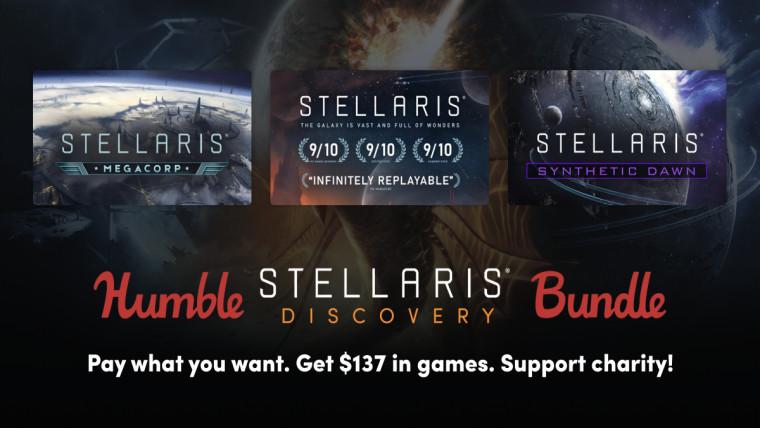 Humble Stellaris bundle contents