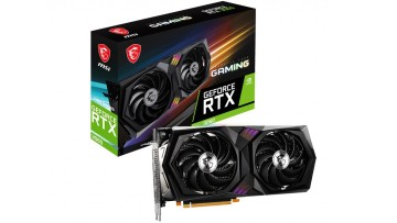 MSI GeForce RTX 3060 Gaming 12G graphics card and its retail box design