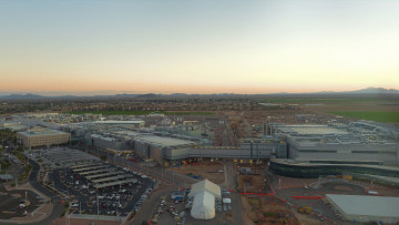 Intel&039s newest leading-edge manufacturing facility is Fab 42 in Ocotillo Arizona